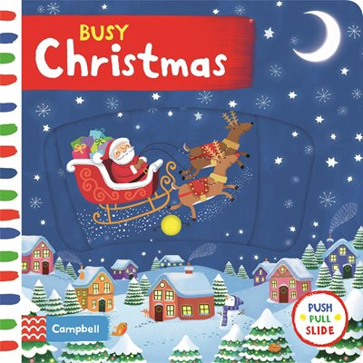 Book cover for Busy Christmas